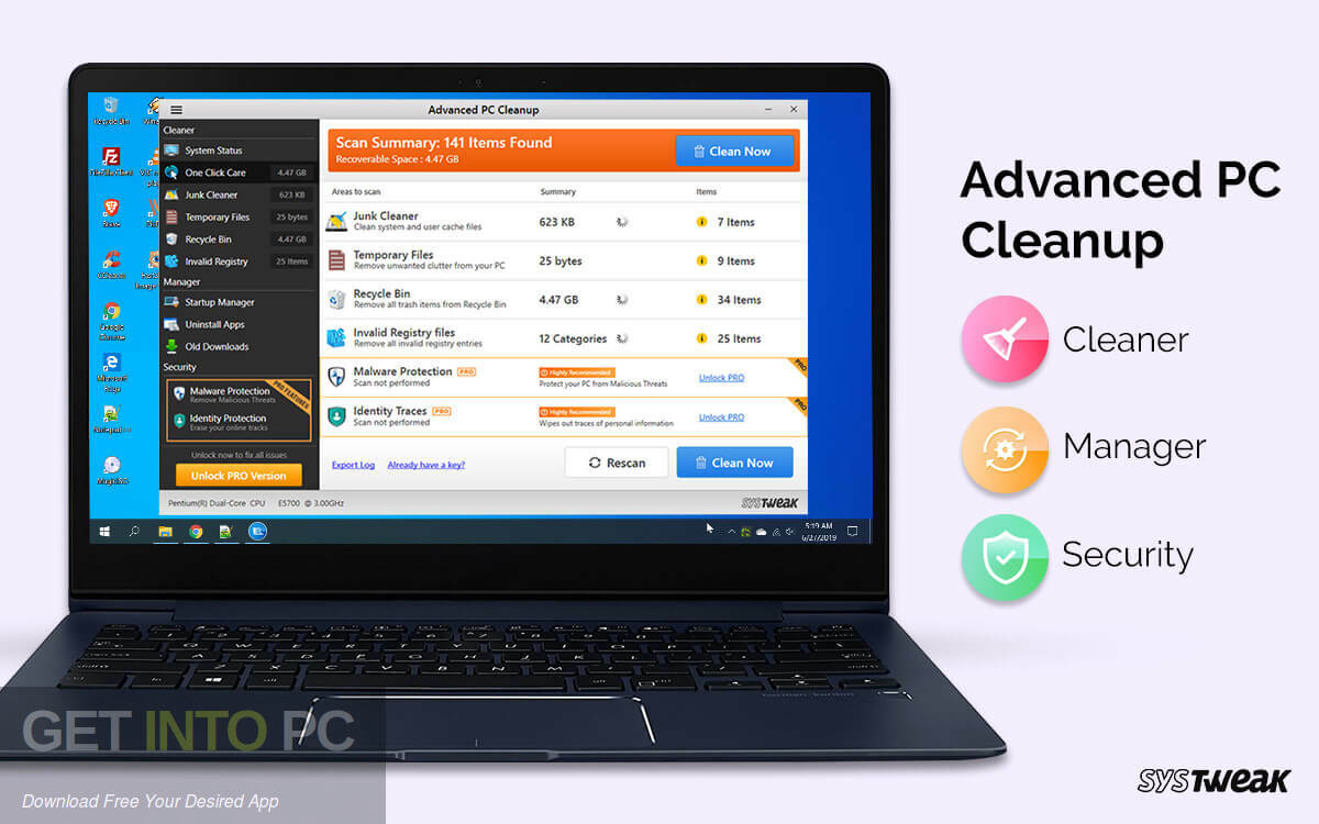Systweak Advanced PC Cleanup Direct Link Download