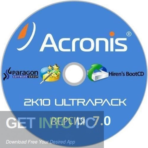Acronis 2k10 UltraPack Free Download