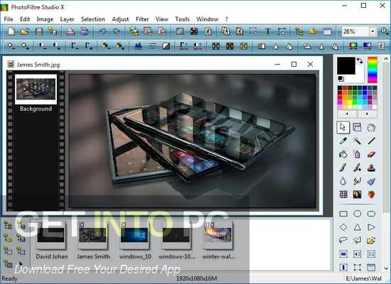 PhotoFiltre Studio 2020 Direct Link Download