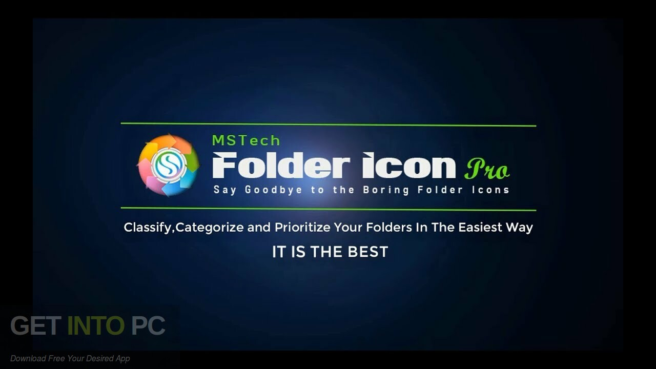 MSTech Folder Icon Pro Free Download