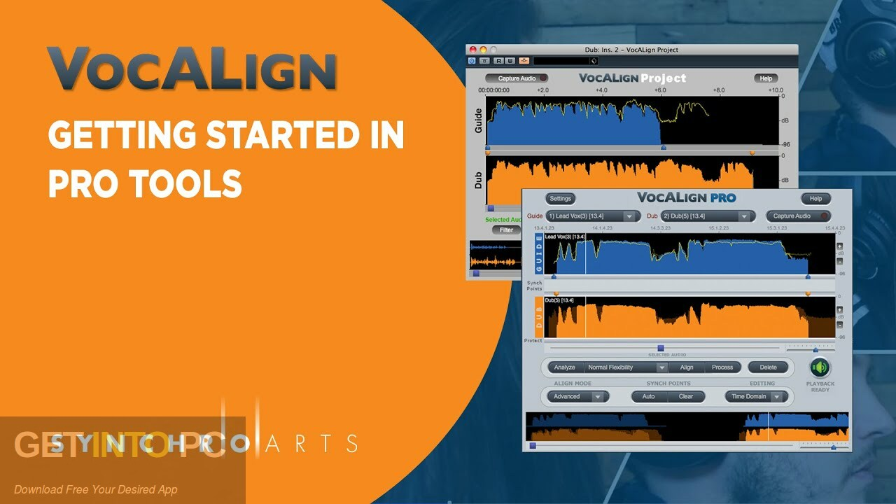 Synchro Arts - Vocalign Pro Free Download