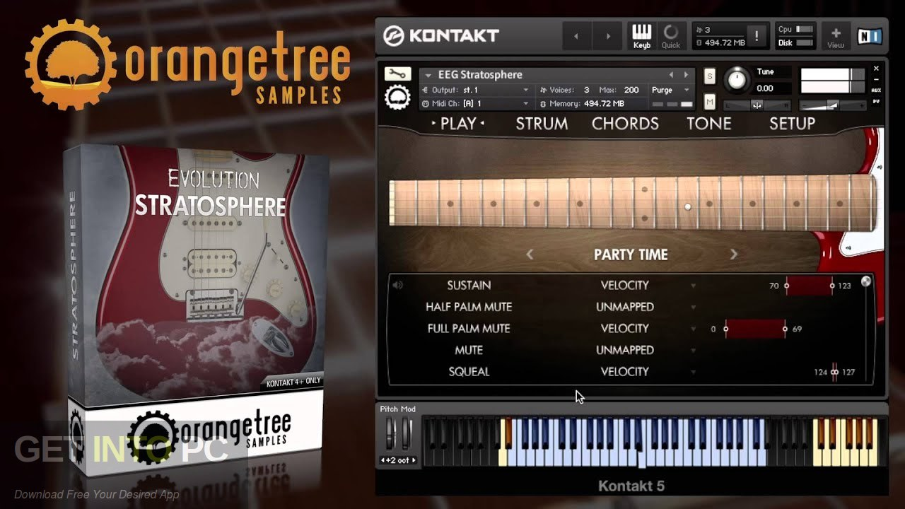 Orange Tree Samples - Evolution Stratosphere Free Download
