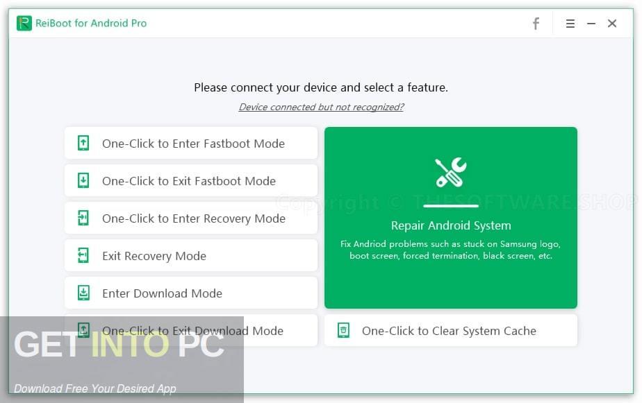 Tenorshare ReiBoot for Android Pro Offline Installer Download