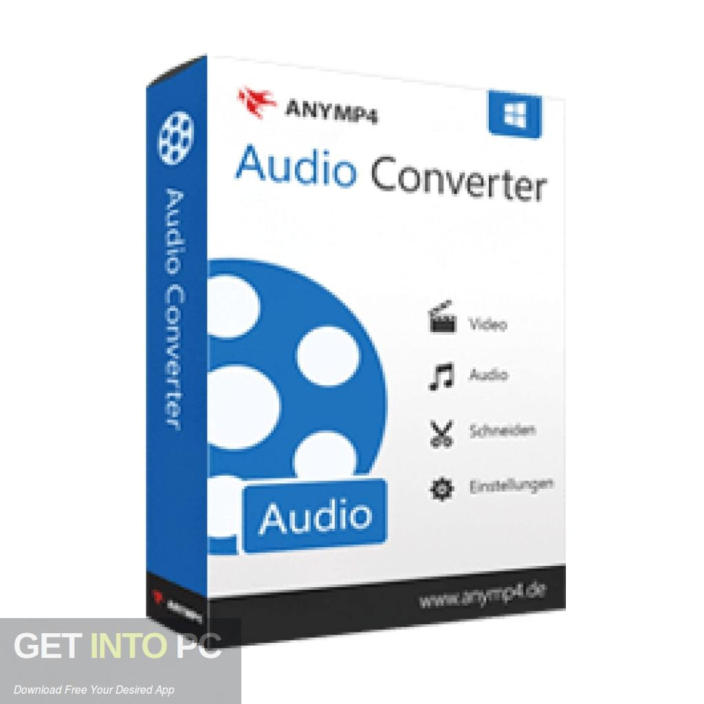 AnyMP4 Audio Converter Free Download