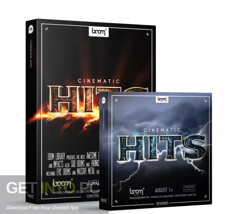 Boom Library - Cinematic Hits Designed Free Download
