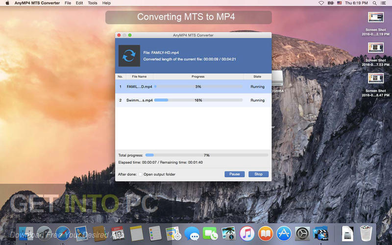 AnyMP4 MTS Converter Latest Version Download
