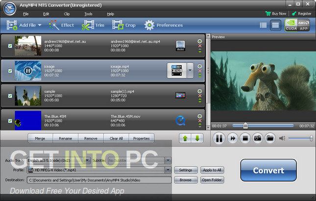 AnyMP4 MTS Converter Direct Link Download