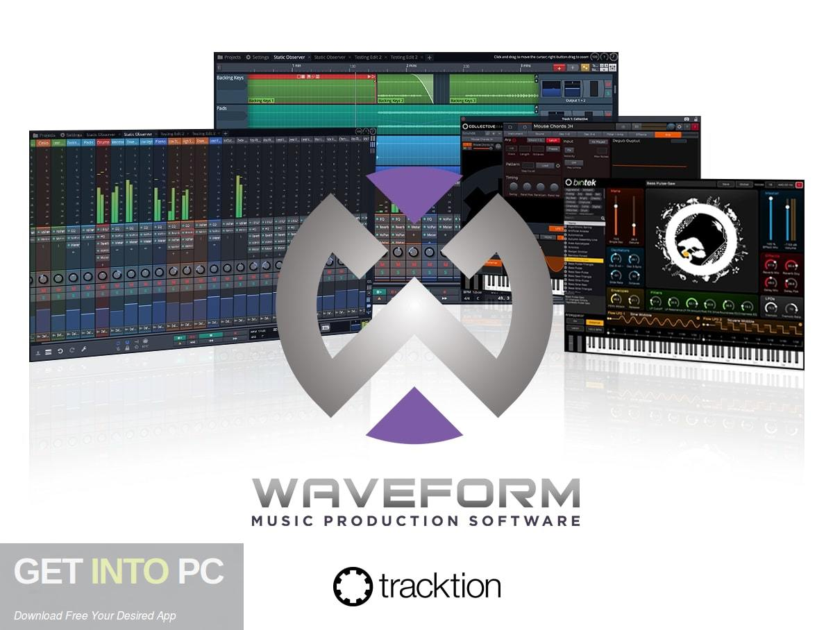 Tracktion Waveform Pro 11 Free Download