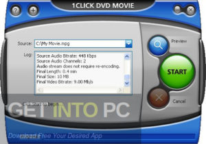 1CLICK DVDTOIPOD Offline Installer Download-GetintoPC.com