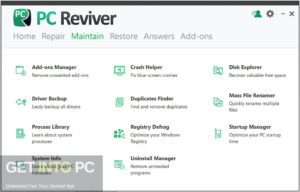 PC Reviver 2020 Direct Link Download-GetintoPC.com
