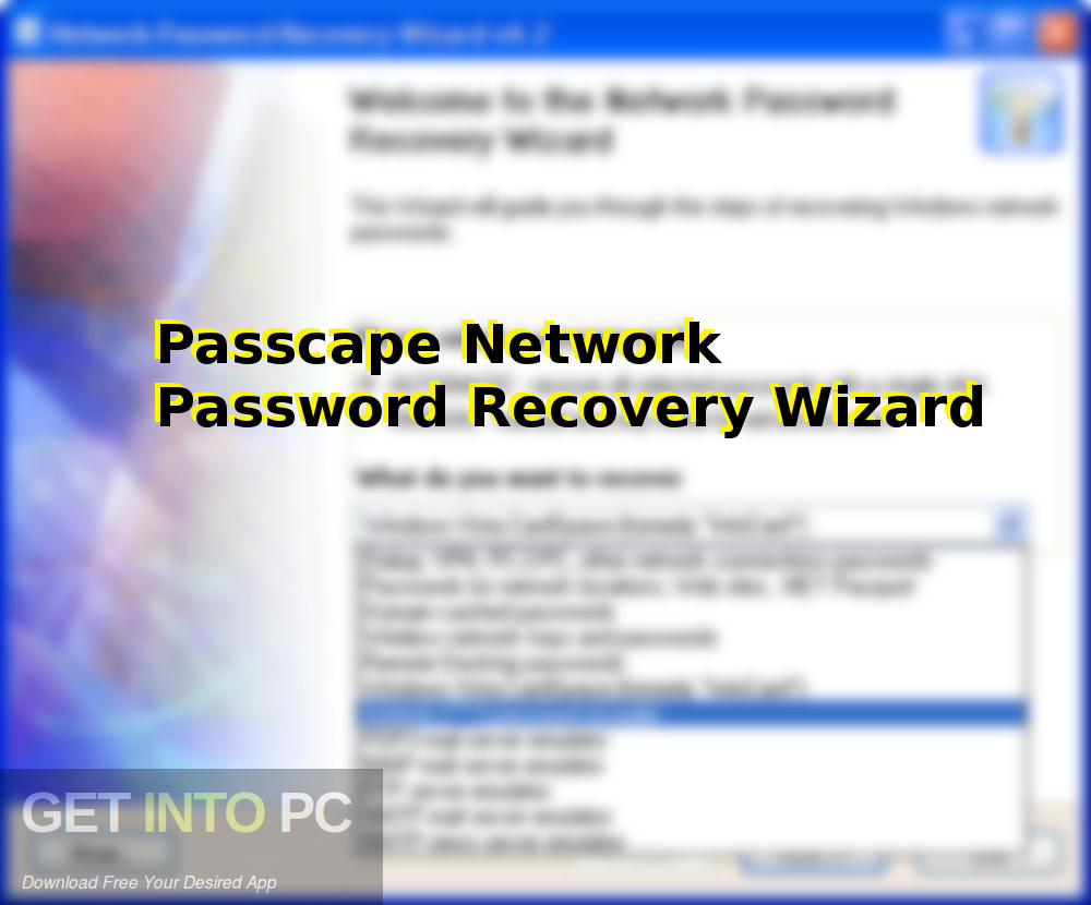 Passcape Network Password Recovery Wizard Free Download-GetintoPC.com