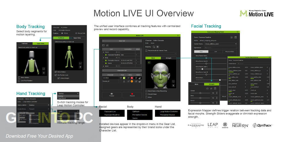 Reallusion Motion LIVE Plug-in Latest Version Download-GetintoPC.com