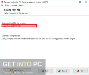 Recovery Toolbox for PDF Offline Installer Download-GetintoPC.com