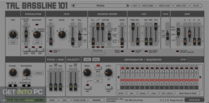 Togu Audio Line TAL BassLine 101 2020 Direct Link Download-GetintoPC.com