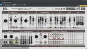Togu Audio Line TAL BassLine 101 2020 Latest Version Download-GetintoPC.com