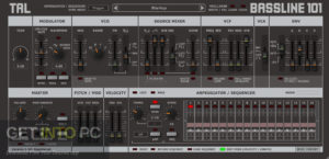Togu Audio Line TAL BassLine 101 2020 Offline Installer Download-GetintoPC.com