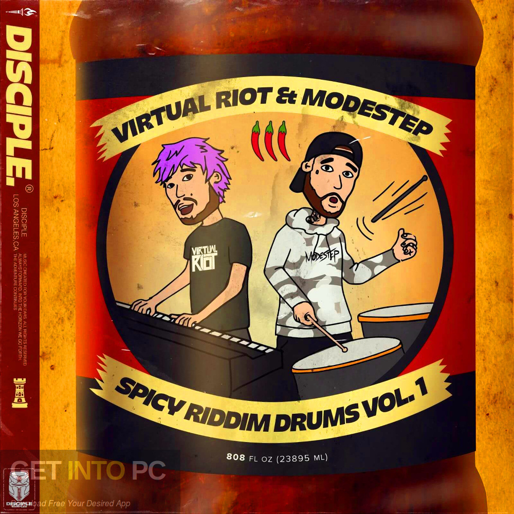 Virtual Riot x Modestep: Spicy Riddim Drums Vol. 1 Free Download-GetintoPC.com