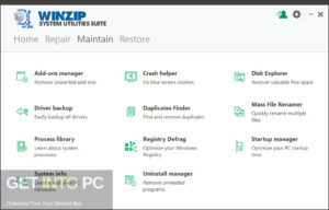 WinZip System Utilities Suite Direct Link Download-GetintoPC.com