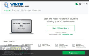 WinZip System Utilities Suite Latest Version Download-GetintoPC.com