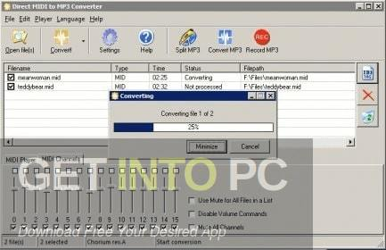 Direct MIDI to MP3 Converter Direct Link Download