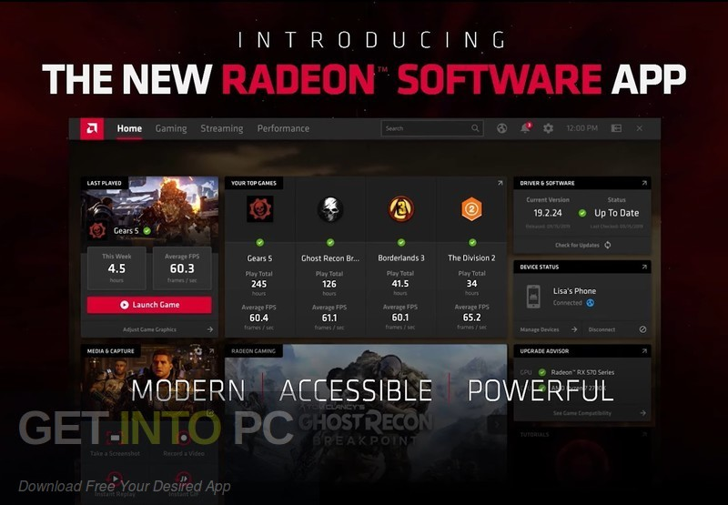 AMD Radeon Adrenalin Edition 2020 Direct Link Download