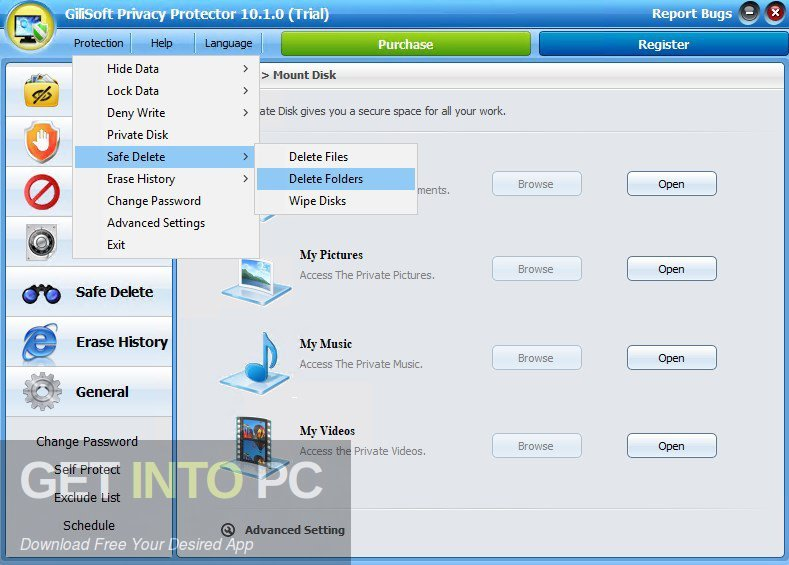GiliSoft Privacy Protector Direct Link Download