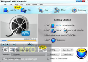 Bigasoft WTV & Total Video & Audio Converter Latest Version Download GetIntoPC.com