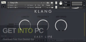 Cinematique Instruments KLANG VINTAGE SYNTH Velvet Blend (KONTAKT) Latest Version Download GetIntoPC.com