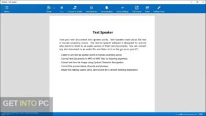 DeskShare Text Speaker Direct Link Download-GetintoPC.com