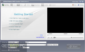 GiliSoft Movie DVD Creator Direct Link Download GetIntoPC.com