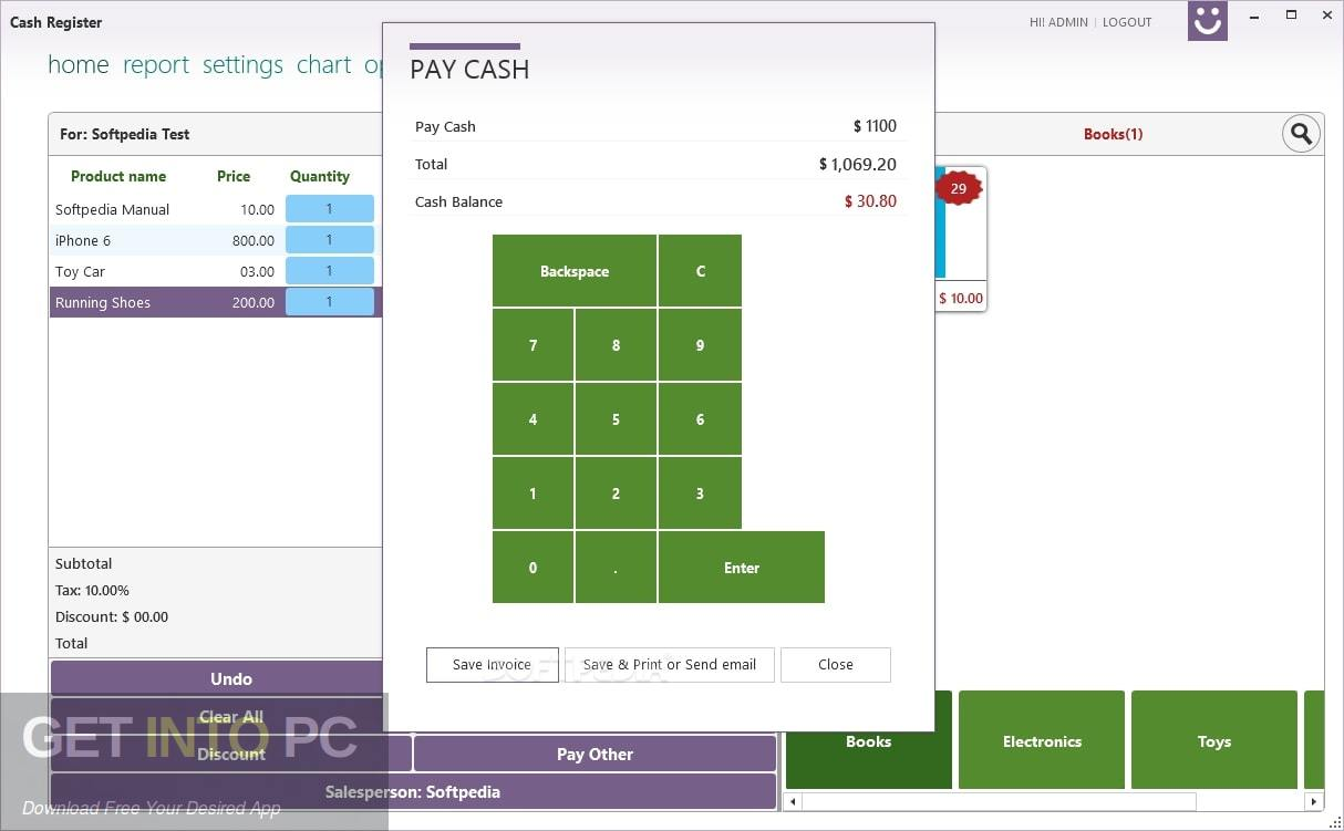 Cash Register Pro Offline Installer Download