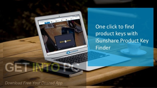 iSunshare Product Key Finder Free Download
