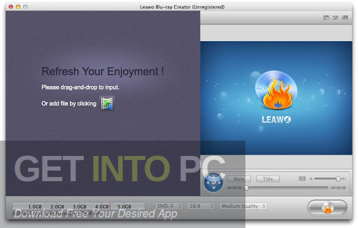 Leawo Blu-ray Creator Latest Version Download
