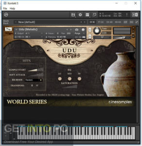 Cinesamples African Marimba and Udu (KONTAKT) Latest Version Download-GetintoPC.com