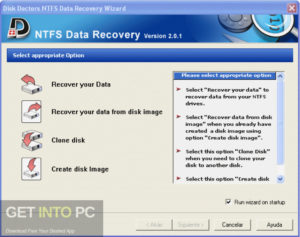 Disk Doctors NTFS Data Recovery Direct Link Download-GetintoPC.com