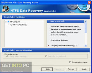Disk Doctors NTFS Data Recovery Latest Version Download-GetintoPC.com