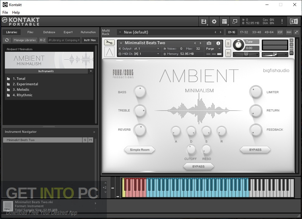 Big Fish Audio - Ambient Minimalism Offline Installer Download