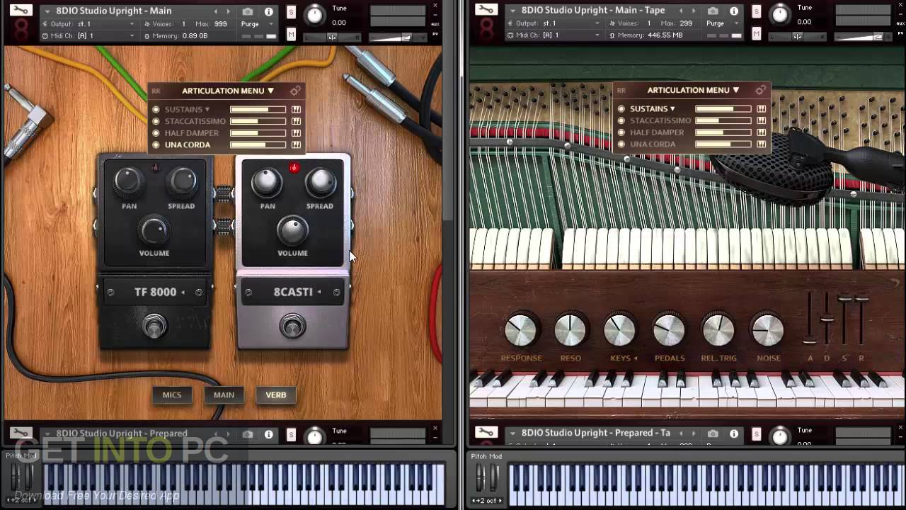 8Dio - the Vintage Studio the Series a Wurlitzer Electric's the Piano (KONTAKT) Direct Link Download
