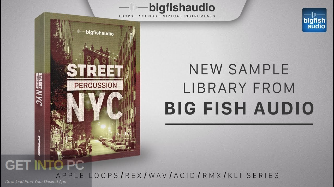 Big Fish the Audio - Street General Percussion (KONTAKT) Free Download
