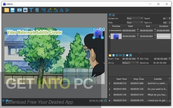 Video Watermark Subtitle Creator Professional Edition Direct Link Download