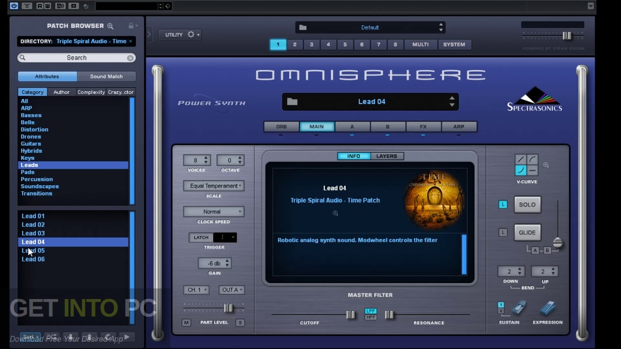 the Triple Spiral the Audio - the Ambient Pads (Omnisphere) Latest Version Download