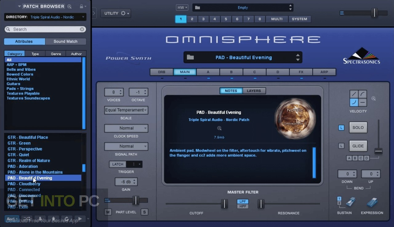 the Triple Spiral the Audio - the Ambient Pads (Omnisphere) Offline Installer Download