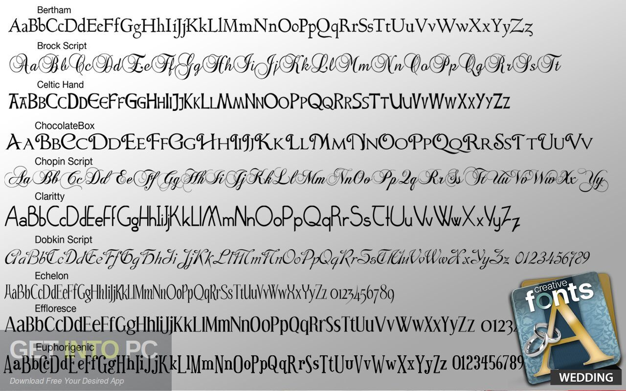 Summitsoft Creative Fonts Collection 2020 Direct Link Download