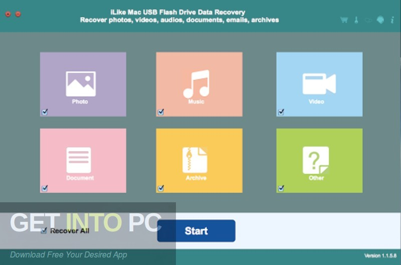 iLike USB Flash Drive Data Recovery Latest Version Download