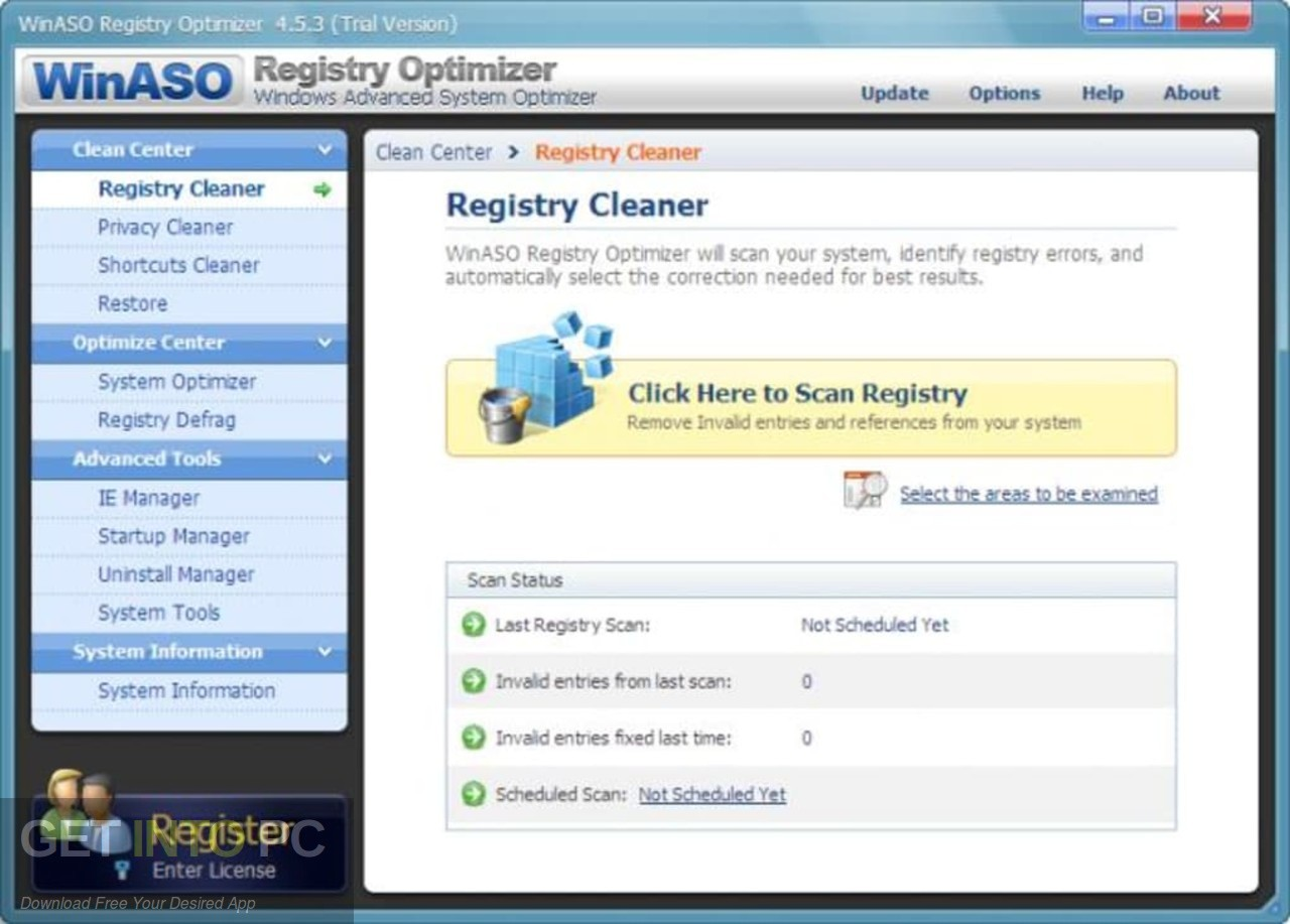 WinASO Registry Optimizer Latest Version Download