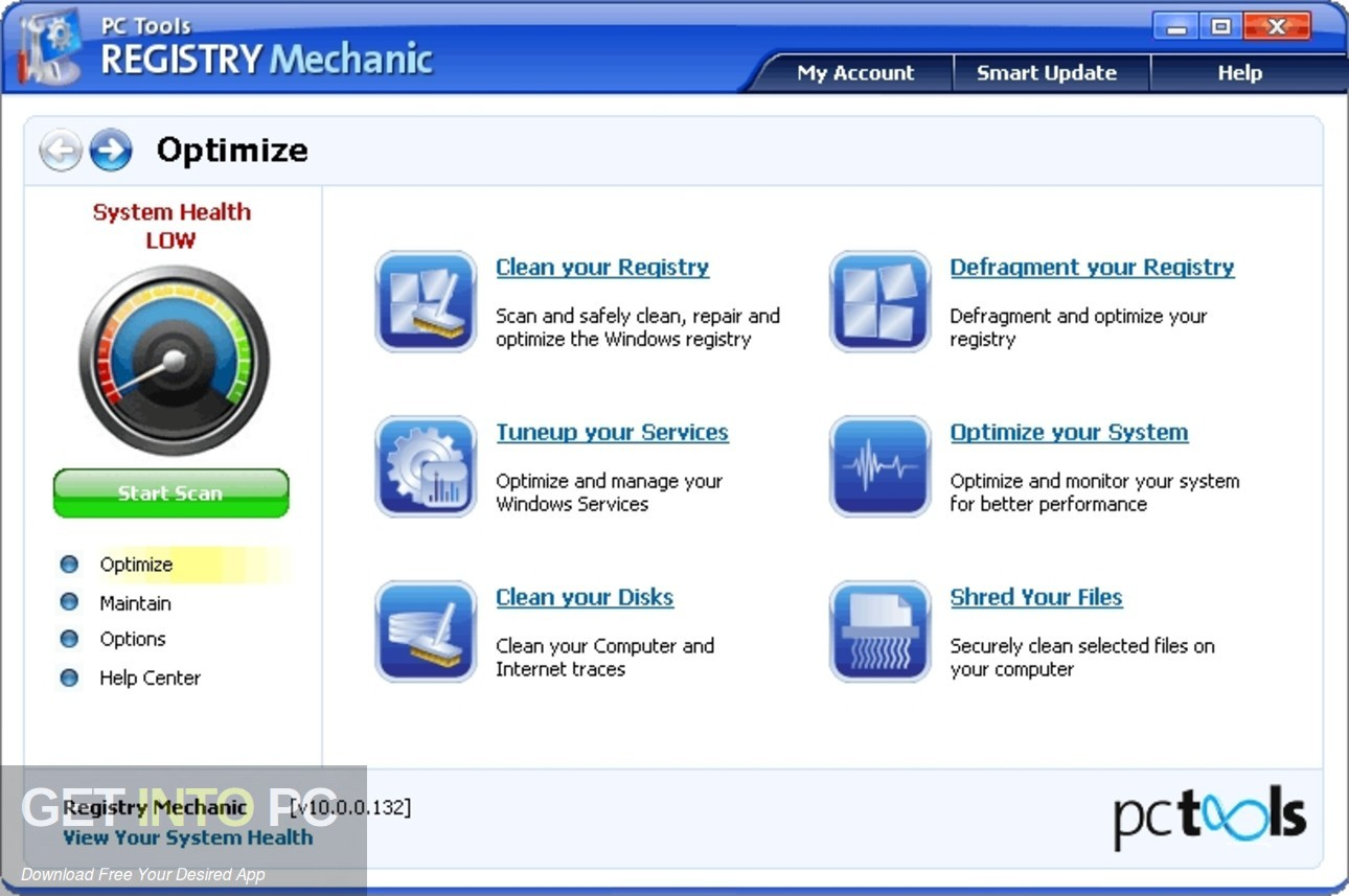 PC Tools Registry Mechanic Direct Link Download