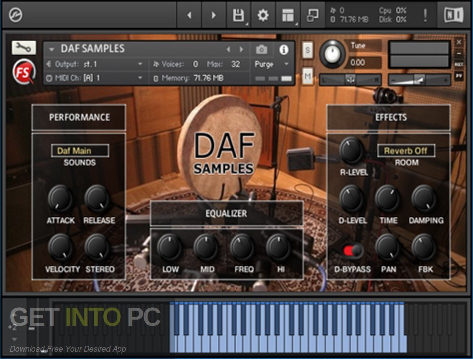 Precisionsound - Persian Daf Offline Installer Download