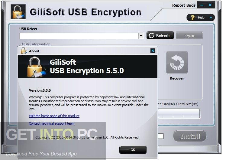 GiliSoft USB Stick Encryption Latest Version Download