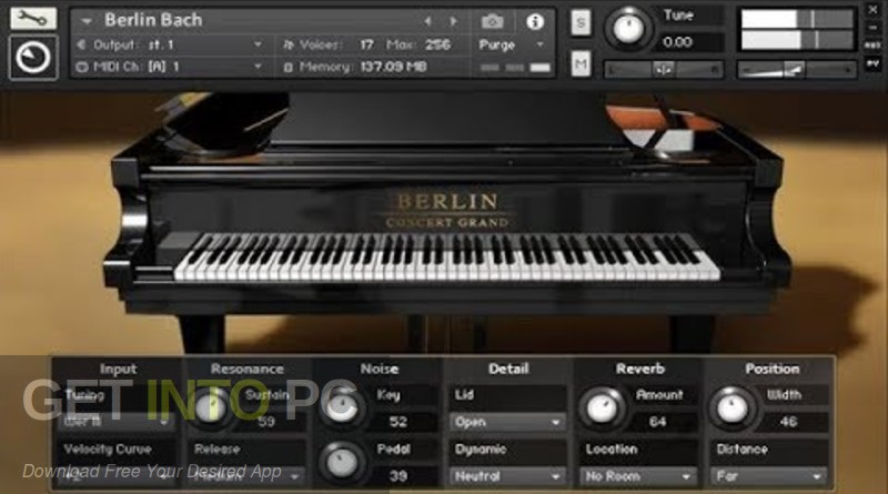 Native Instruments - Berlin Concert Grand (KONTAKT) Direct Link Download