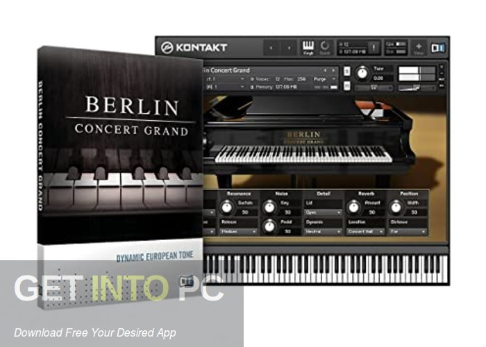 Native Instruments - Berlin Concert Grand (KONTAKT) Free Download